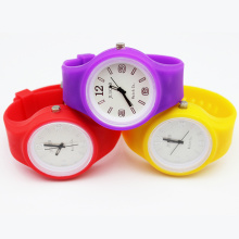 New Style Girls Colorful Silicone Strap Watches