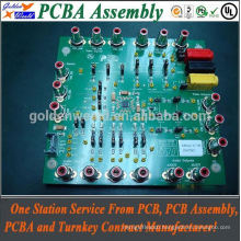 Electric Guitar Circuit Assembly Board pcb with led assembly