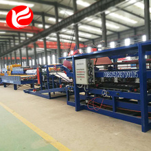 Good Quality for China Sandwich Panel Roll Forming Machine,Roof Panel Roll Forming Machine,Hydraulic Panel Roll Forming Machine Manufacturer Insulated sandwich panel roll forming production lines export to Tuvalu Factory