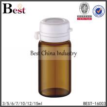 3 ml 5 ml 10 ml 15 ml alibaba china produits chauds ambre verre bouteille déchirer capuchon huile essentielle bouteille en verre cosmétique emballage