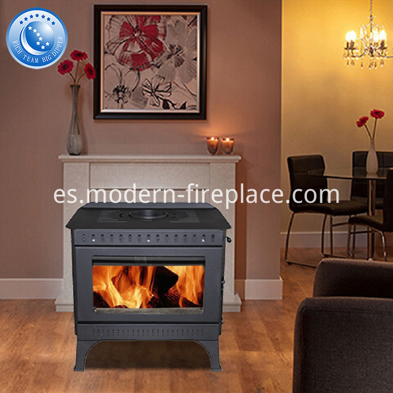 Steel Plate Wood Burning Stoves Installation