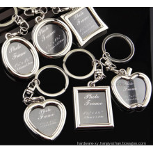 OEM Logo Metal Key Chain with Ring for Promotional Gift