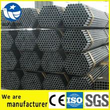 Vente directe de tuyau en acier soudé noir 13,7 mm