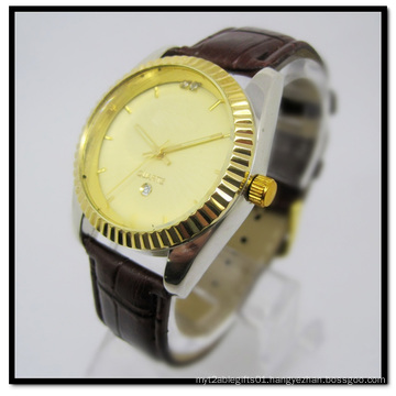 Hot Selling Leather Band Watch for Men Leather Trap Band Watches