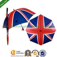 """27"""" große England Flagge gedruckten Golfschirm (GOL-0027F)"""