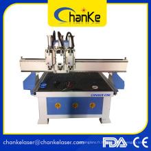Machine à bois CNC avec axe rotatif 3D