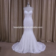 DM675 butterfly wedding dress Mermaid collection sweetheart neckline lace pattern wedding dress