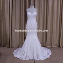 DM675 butterfly wedding dress Mermaid collection sweetheart neckline lace pattern wedding dress