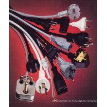 Cabo de alimentação para cabo de alimentação da placa de ferro para a placa de ferro, soquete de ferro, ferro placa cabo ferro cabo ferro tomada com antena
