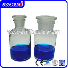 JOAN Labor Clear Glass Reagenz Flaschen mit Stopper