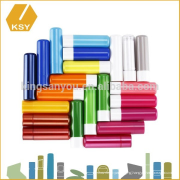 Packaging for cosmetics perfume roll on tube lip balm applicator