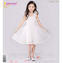 children frocks dress for girl 5 years party wear V-neck snow white dress