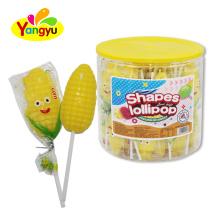 Custom Candy Corn Shape  Lollipop Sweet candy
