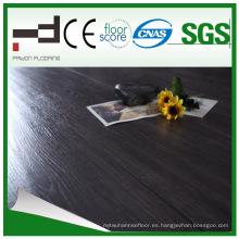 12mm Negro Roble Eir Sparking V-biselado estilo europeo de agua de prueba HDF piso laminado