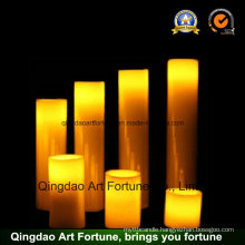 Flameless LED Wax Candle for Easter Holiday Decoration