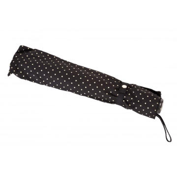 Polka Dot Lace Parasol Kvinnors Folding Paraply