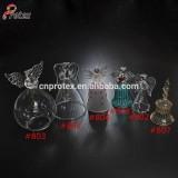 Different designs decorative handing glass bell