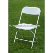 Chaise pliante en plastique de mariage extérieure bon marché
