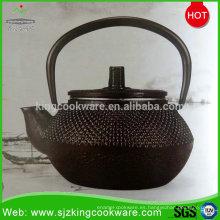 Teteras chinas del arrabio de la moda 0.8L con el tamiz del té