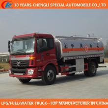 4X2 tipo 6 rodas caminhão de tanque de combustível 15cbm para venda