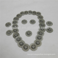 Stainless steel button filter SS mini filter disc