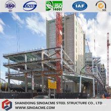 Estrutura de aço pré-projetada para construção de alta elevação
