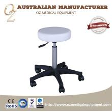 Taburete médico ajustable de la altura Taburete médico de la silla del taburete de la clínica del taburete