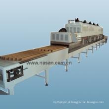 Máquina de secagem de tubos de papel microondas Nasan