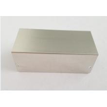 Piezas de chapa de aluminio de 0,5 mm con doblez