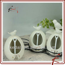 CERAMIC KITCHEN JAR WITH IRON HOLDER