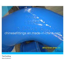 Pn16 Ductile Iron 45 Degree Elbow with Flanges