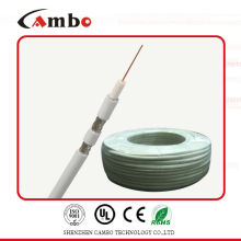 High quality cambo RG59 siamese power line coaxial cable 75ohm/50ohm with CCS/BC CE/UL/ factory/manufacturer in shenzhen/China
