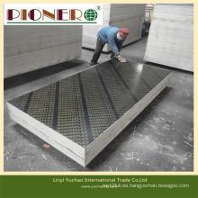 Película fenólica frente madera contrachapada / madera para materiales de construcción