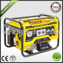 Tiger key start 2.5kw 6.5hp gasoline generator