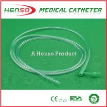 Tubo de alimentação descartable de PVC HENSO