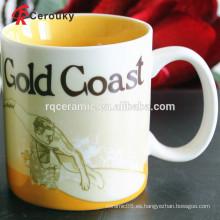 CIQ FDA aprobó la taza de porcelana de tazas de gres de cerámica