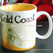 CIQ FDA approved ceramic stoneware mugs porcelain mug