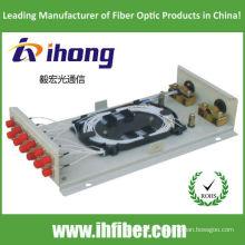 Caixa de parede caixa de terminação de fibra óptica FC12 com adaptadores e tranças