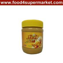Crunchy Erdnussbutter in der Haustierflasche