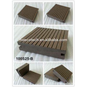 Water-Proof WPC Decking Floor Composite Wood Decking Floor for Terrace and Patio
