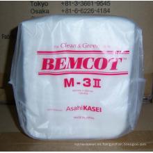 Cleanroom Wiper M3, Bemco M3 toallitas de viscosa poliéster ecológico M3 Cleanroom Wiper, 25cm * 25cm, 100 unids / bolsa, 30 bolsas / cartón