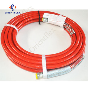 8mm graco blue max paint spray hose 22.7Mpa