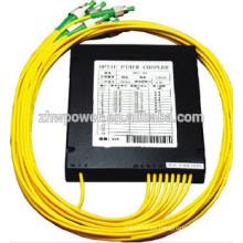 Cassette, mini, insertado tipo plc splitter con SC LC ST FC conector de fibra