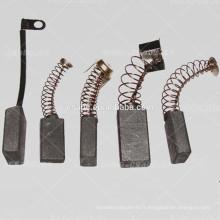 brosse de carbone pour appareil ménager