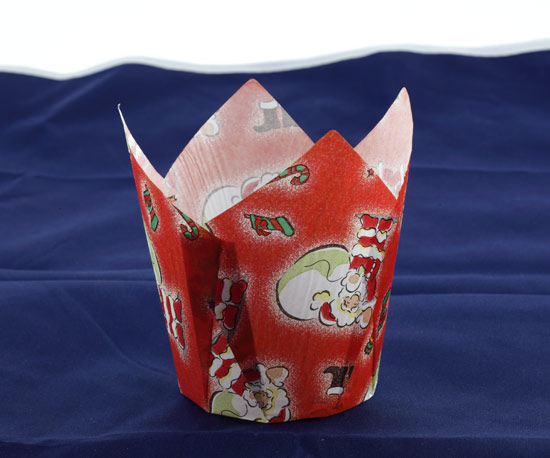 Christmas paper muffin cup
