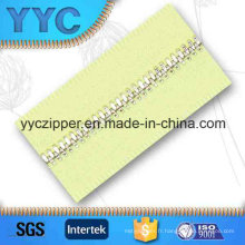 # 4 Dents de maïs en gros Metal Zipper Long Chain for Garment