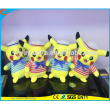 Hot Selling High Quality Pokemon Go Cartoon Plush Toy Navy Pikachu Doll Pocket Monsters
