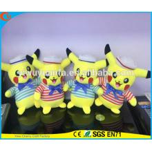 Hot Selling High Quality Pokemon Go Cartoon Plush Toy Navy Pikachu Doll Pocket Monsters