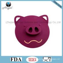 Großes Schwein Silikon Saugdeckel Silikon Lebensmittel Abdeckung SL05