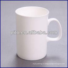Tasse de café en usine de porcelaine P & T, tasse en céramique
